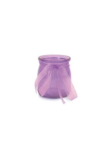 Vasetto in vetro verde (1pz)