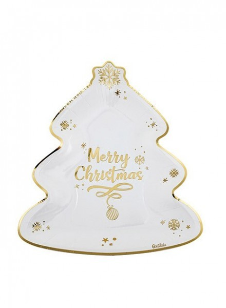 Piatti 23x27 Cm Merry Christmas(8pz)