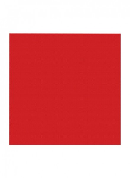 Tovaglioli 33x33 Cm color Rosso (16pz)