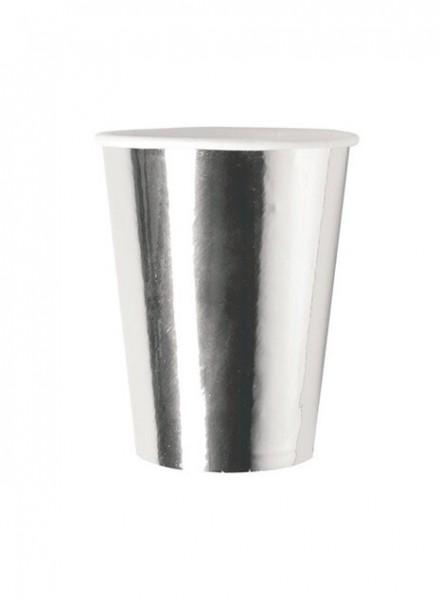 Bicchieri 250cc Argento (8 pz)