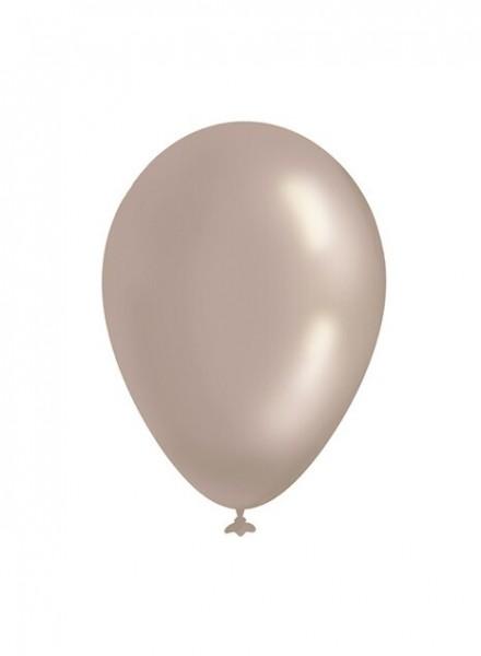 Palloncini metallizzati argento L (12pz)