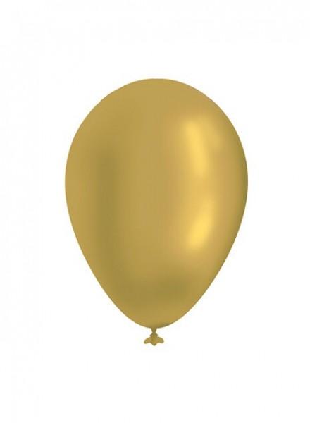 Palloncini metallizzati oro L (12pz)