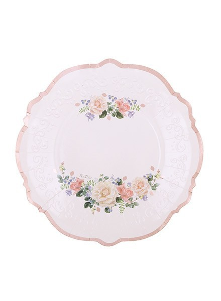 Piatto 27 cm Wedding in Rose Liberty (8pz)