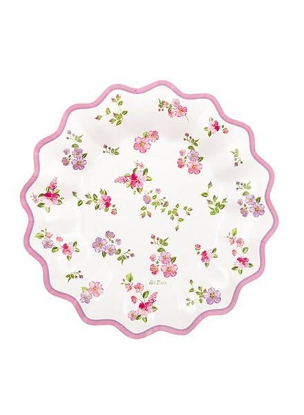 Piatto 27 cm Romantic Flowers (8pz)