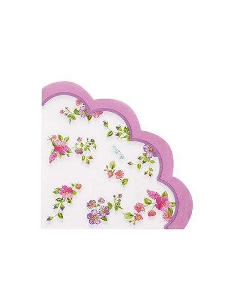 Tovagliolo Romantic Flowers (16pz)