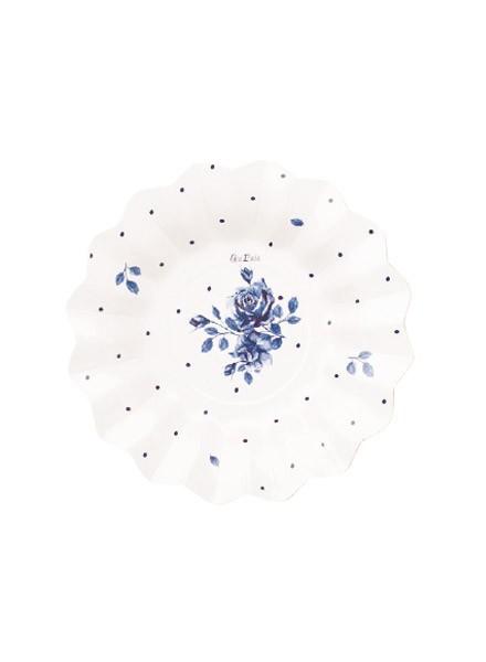 Piatto 21 cm English Rose (8pz)