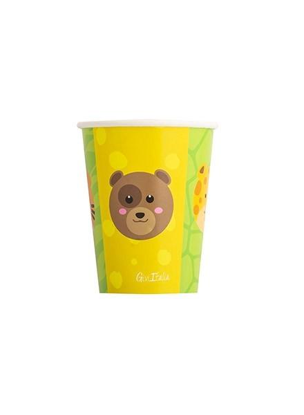 Bicchiere Zoo Party (8pz)
