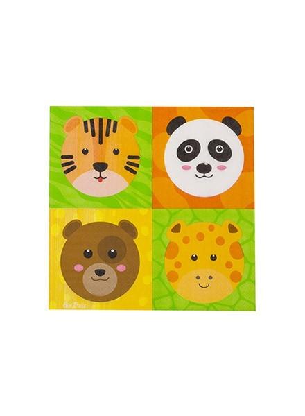 Tovagliolo Zoo Party (16pz)