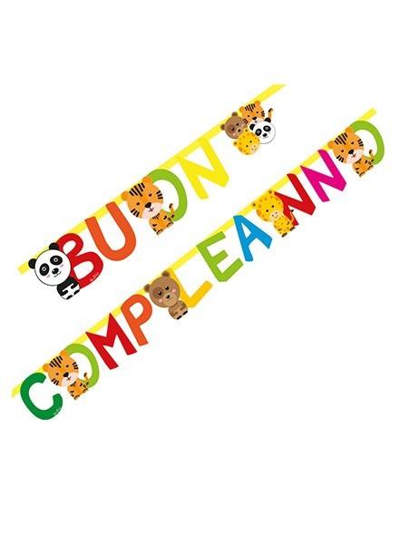 Festone Buon Compleanno Zoo Party (1pz)