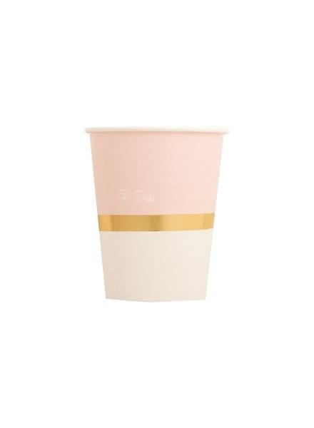 Bicchiere Baby Shower rosa (8pz)